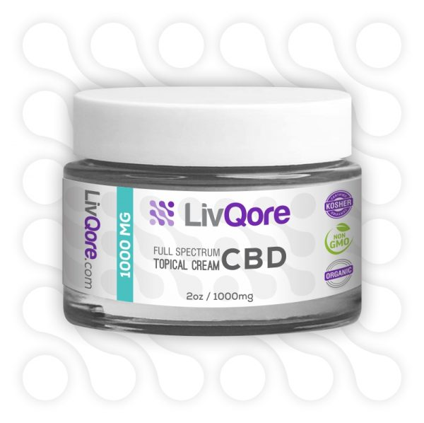 1000mg CBD Cream